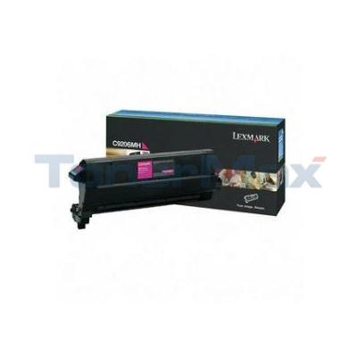 LEXMARK C920 TONER CART MAGENTA TAA 14K